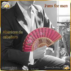 Abanicos Deluxe para hombre / Deluxe Fans for men Diseños exclusivos nuestros. These exclusive desings are only ours. Contacte con nosotros: Just contact us: info@abanicossevillanos.es www.abanicossevillanos.es