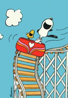 Snoopy Woodstock Rollercoaster