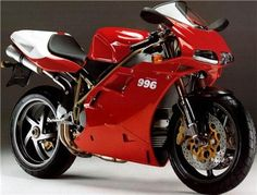 Ducati 996 a work of art and design on 2 wheels