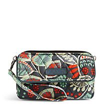 All in One Crossbody and Wristlet for iPhone 6+ in Paisley in Paradise   Vera Bradley. $54