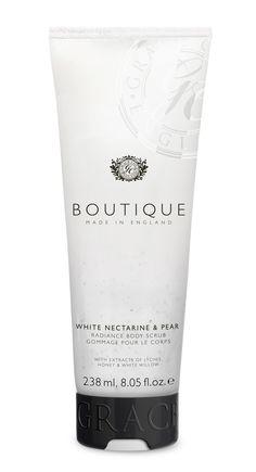 White Nectarine & Pear body scrub