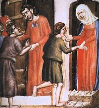 St. Landericus was the Bishop of Paris from 650 to his death. He is best remembered as the founder of the first hospital in Paris. #Catholic #Pray