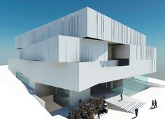 Update: House of Arts and Culture Beirut Competition Beirut, Atrium, Home Art, Competition, Culture, Building, Interior, House, Home Decor