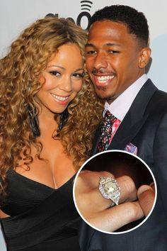 the 50 best celebrity engagement rings - Mariah Carey Wedding Ring