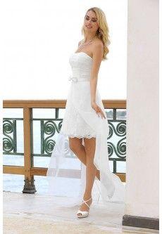Ladybird 54112 Korte trouwjurken in diverse stijlen | De Bruidshoek | De Bruidshoek