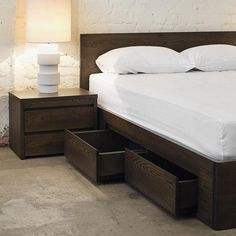 35 The Best Storage Furniture Design Ideas You Must Have - The popularity of storage furniture can be judged from the fact that now every furniture shop offers numerous storage options ranging from wall storag. Wood Bed Design, Bedroom Bed Design, Bedroom Furniture Design, Bed Furniture, Bedroom Sets, Accent Furniture, Cheap Furniture, Furniture Buyers, Furniture Cleaning
