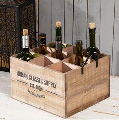 Debnička na víno.  #vino#uskladnenie#debnicka#kuchyna#jedalen#obyvacka Wine Rack, Storage, Classic, Home Decor, Purse Storage, Derby, Decoration Home, Room Decor, Larger
