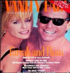 Vanity Fair Magazine [United States] February 1991 Charles Patrick Ryan O'Neal, Jr. better known as Ryan O'Neal, is an American actor best known for his appearances in the ABC nighttime soap opera Peyton Place and for his roles in such films as Paper Moon 1973, Stanley Kubrick's Barry Lyndon 1975, A Bridge Too Far 1977, and Love Story 1970, for which he received Academy Award and  Golden Globe nominations as Best Actor. Since 2007 he has had a recurring role in the TV series Bones.