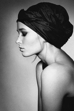 "500px / Photo ""profile"" by Greta Tuckute Head wrap"