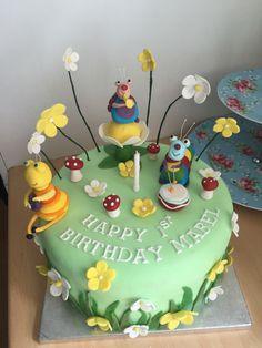 roso rose bakes - Big Bug Band Birthday cake for Mabel