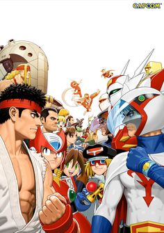 tvc-character-poster4.jpg - TATSUNOKO VS CAPCOM ARTWORK - FIGHTING GAME NEWS STRATEGY & MEDIA