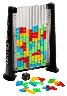 Tetris and Connect Four had a baby.  I'd play this.  I'd play the crap out of it.