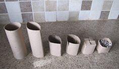 toilet paper planter - pour replanter !