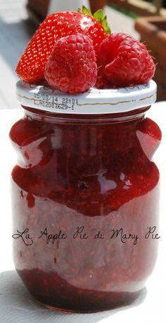 La Apple Pie di Mary Pie: Marmellata di fragole e lamponi al pepe rosa