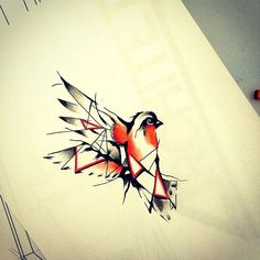 tattoo sketch geometric animal - Pesquisa Google
