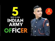 5 Ways To Become Indian Army Officer (Hindi) Crown Tattoo Design, Indian Army, 5 Ways, Interview, Education, Youtube, Onderwijs, Learning, Youtubers