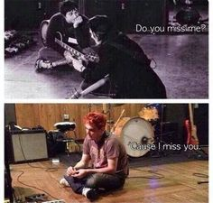 me grossly sobbing