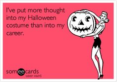 There's nothing wrong with putting thought into a great Halloween costume!