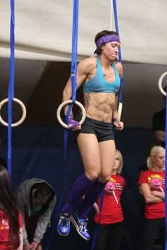 Can't wait to get a muscle up! And my abs... So close!