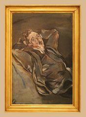 Oskar Kokoschka (1886-1980) Portrait of the Poet Albert Ehrenstein, (1913-1914), oil on canvas (Sergei P. Zubkov) Tags: november art painting czech prague praha fair palace trade 2011 palác veletržní