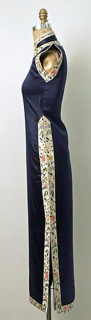 Qipao 1930s-1940s The Metropolitan Museum of Art