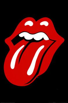 The Rolling Stones tongue logo poster #KohlsPinToWin