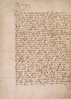 "Jane Grey letter, signed ""Quene"""