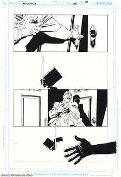 100 Bullets 100, pg. 31 Comic Art