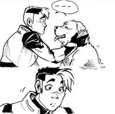 1/2 Shiro found a good boy