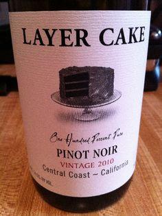 layer cake pinot noir wine - Google Search