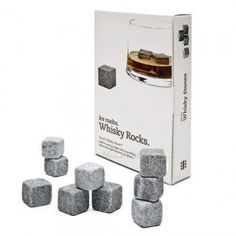 Whisky Rocks! Stones to cool your drink