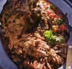 Jalapeno-roast Pork - yum! Jalapeno is a vegetable in my house.