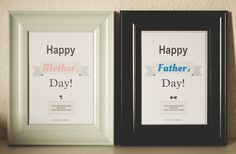 """""""Happy Mother's and Father's Day"""" - Card Design"""