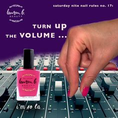 Turn up the volume! It's the weekend, time for some fun#imsoLA #laurenbbeauty