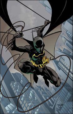 Comic art 02- Batgirl by buffman.deviantart.com on @deviantART