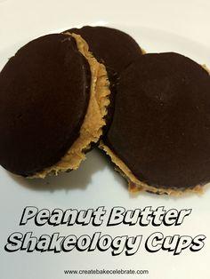 Chocolate Peanut Butter Shakeology Cups - Create Bake Celebrate