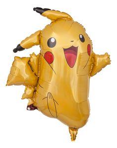 Pokemon Pikachu als heliumgefüllter Motivballon | Ballongruesse.de