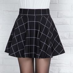 b1024a73d715d Plaid Mini Skirt for Women Skirts 2017 Summer Autumn Tutu Skirt Black  Vintage Quality Womens Clothing Faldas mujer jupe femme