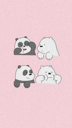 Bear Wallpaper, Tumblr Wallpaper, We Bare Bears Wallpapers, Anime Neko, Presents, Memes, Cute, Cartoon Cartoon, Fictional Characters