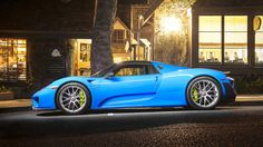 "Porsche 918 Spyder ""Weissach Package"""