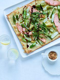 Spargelcrêpes, Spargelquiche - 19 schnelle Rezepte mit grünem und weißem Spargel. Was koche ich heute? Gönn dir ein leckeres
