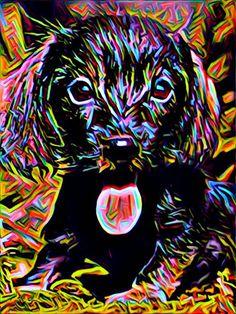 Unique dog art gifts art print wall art pet print