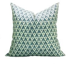 Quadrille Volpi pillow cover in Navy  20 x 20 by sparkmodern, $90.00