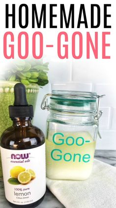 Dealing with sticky labels and gunk on stuff? Check out how to make homemade goo gone. Skip the bad smells in regular goo gone and make it yourself with this DIY goo gone recipe. Deep Cleaning Tips, House Cleaning Tips, Natural Cleaning Products, Cleaning Solutions, Spring Cleaning, Cleaning Hacks, Homemade Toilet Cleaner, Cleaners Homemade, Diy Cleaners