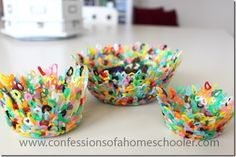 DIY Perler Bead Bowl - Confessions of a Homeschooler