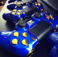 Royale Blue #ps4 #playstation4 #playstation #controller #ps4controller #playstationcontroller  #customcontroller  #dualshock #dualshock4