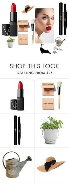 """""""my kind of make up"""" by karillaaa on Polyvore featuring beauty, NARS Cosmetics, Bobbi Brown Cosmetics, Yves Saint Laurent, Potting Shed Creations, Eugenia Kim and simplemakeup"""
