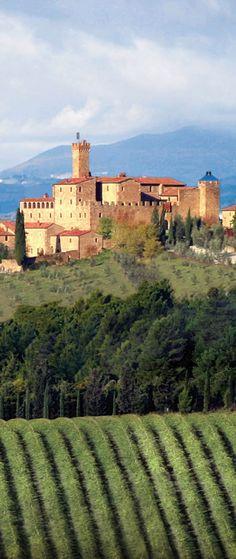 Castello Banfi winery ~ Montalcino, Italy