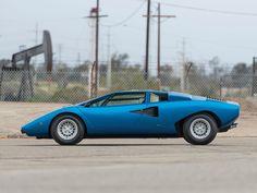 1976 Lamborghini Countach LP400 | V12, 3,929 cm³ | 375 PS / 276 kW | Design: Marcello Gandini, Bertone