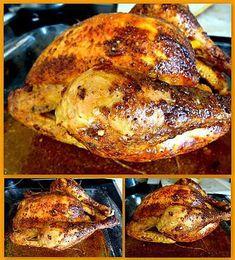 La meilleure recette de Poulet rôti comme en rotisserie (à la moutarde et à l'ail)!